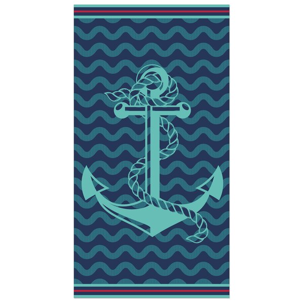 Whitman 100% Cotton Beach Towel by Breakwater Bay